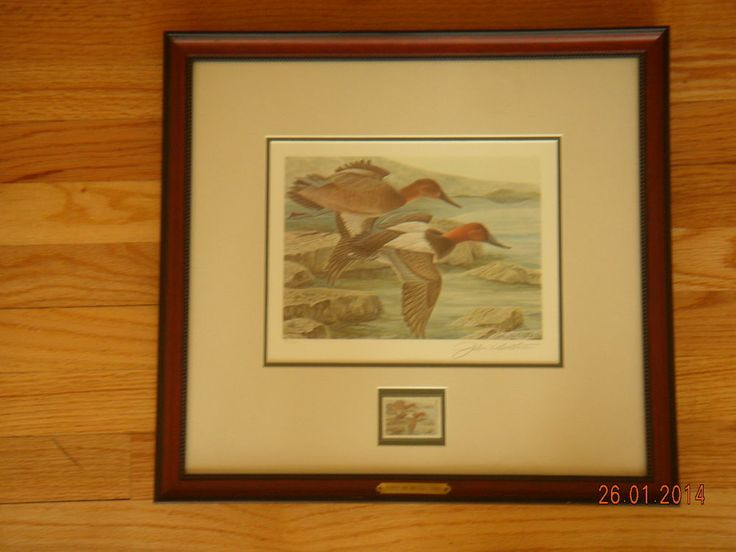 John Ruthven--First Annual Ducks Unlimited Duck and Stamp Print (1984)