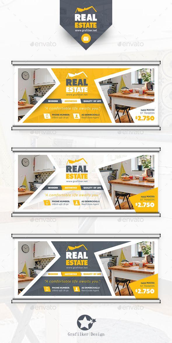 Real Estate Billboard Template PSD, InDesign INDD #design Download: http://graphicriver.net/item/real-estate-billboard-templates/14474226?ref=ksioks