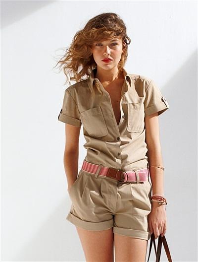-50% #Combishort Somewhere pour un look #baroudeuse esprit masculin/féminin. 27,45€
