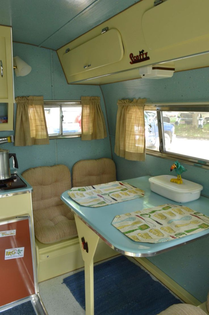 Retro camper curtains - 415 Best Camper Interior Decor Images On Pinterest Vintage Campers Happy Campers And Retro Campers