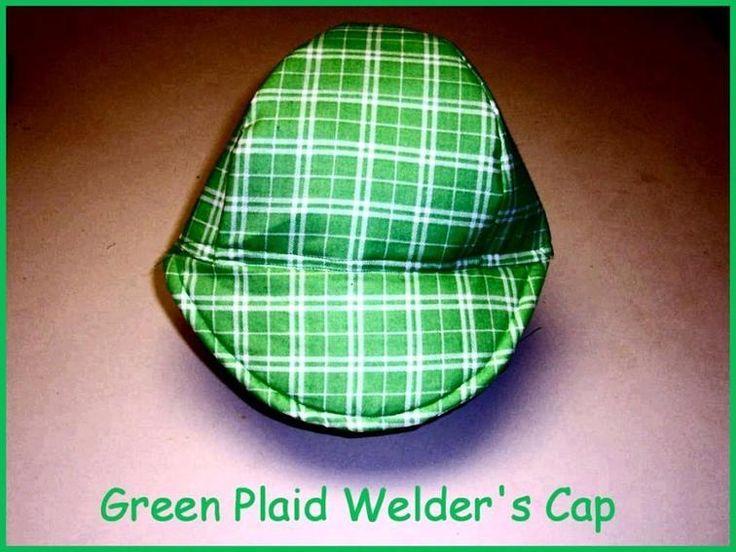 Green Plaid Cap | Craftsy