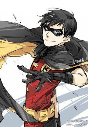Tags: Batman, Robin (DC Comics), DC Comics, Nightwing, Superhero, Young Justice