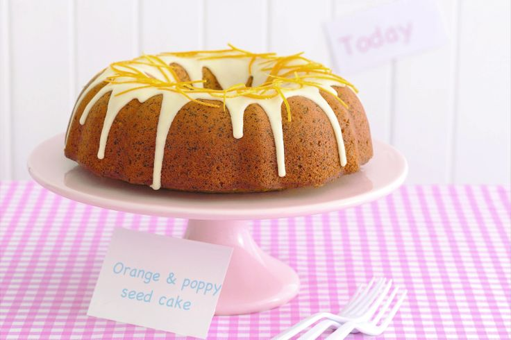 We all love a homemade cake, and this gorgeous citrus treat is a real winner. A pretty cake pan turns an old-fashioned cafe classic into something special.