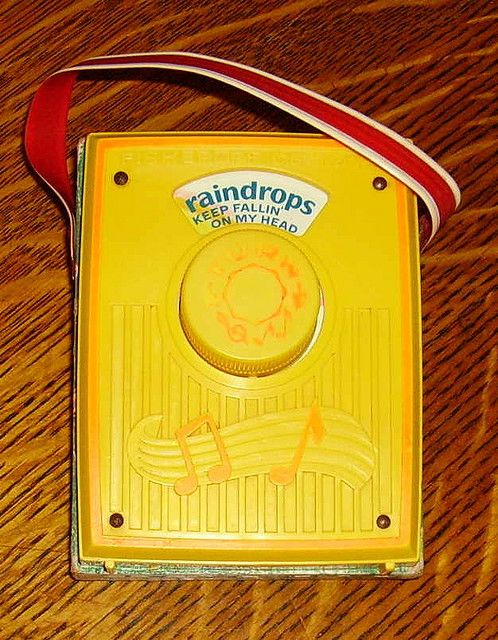 Music box - This was my fave toy as a kid - gave it to my son 30 odd years later - & he broke it! :/