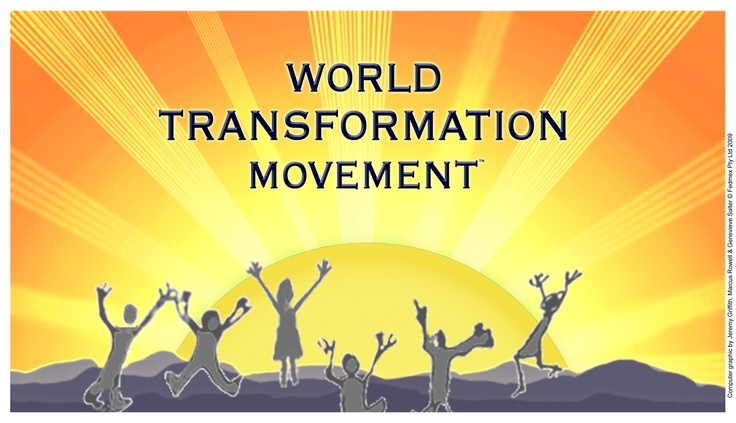 The World Transformation Movement poster http://www.worldtransformation.com/posters/