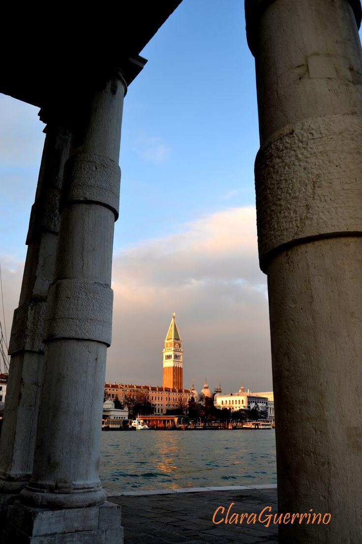 Campanile di San Marco da Punta della Dogana