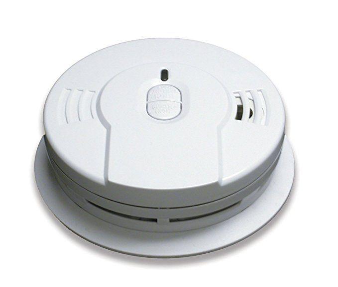 6 Pack Of Kidde I9010 10 Year Sealed Lithium Battery Operated Smoke Alarm With Memory And Smart Hush Smoke Alarms Smoke Detector Motion Sensor Lights Outdoor