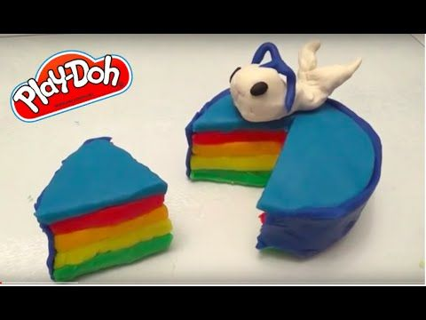 Play doh cake, DIY whale cake with play doh. Do it yourself cake