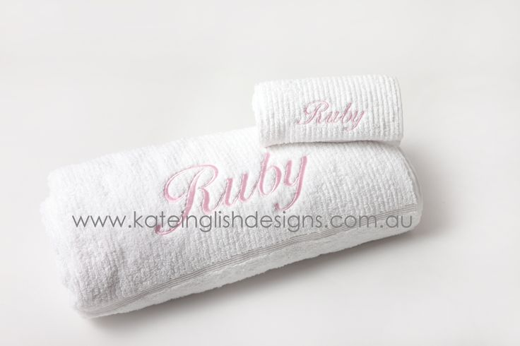 Baby towel sets - Birth or Christening gift