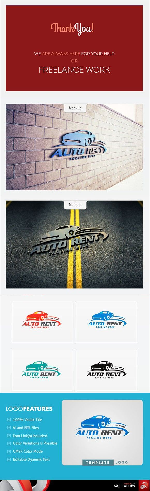 Auto Rent - Logo Template