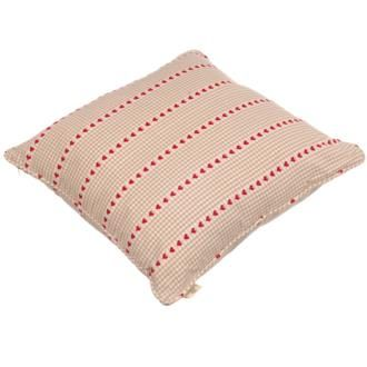 Heart Gingham Cushion in Natural from www.jim-lawrence.co.uk  #valentine