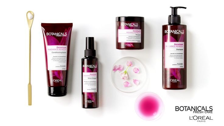 Revive Dull Hair with Geranium Radiance Remedy by Botanicals Fresh Care® - YouTube
