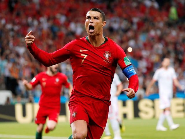 Cristiano Ronaldo Scores Hat Trick For Portugal In Thriller Against Spain Cristiano Ronaldo Ronaldo Messi Vs Ronaldo