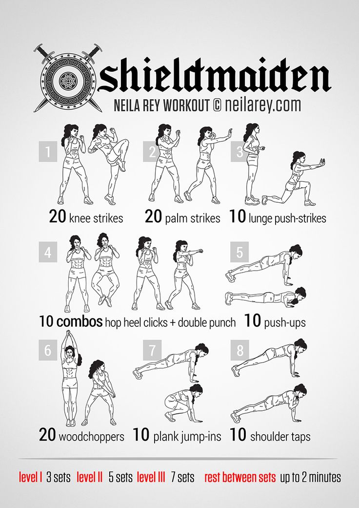 Shieldmaiden Workout