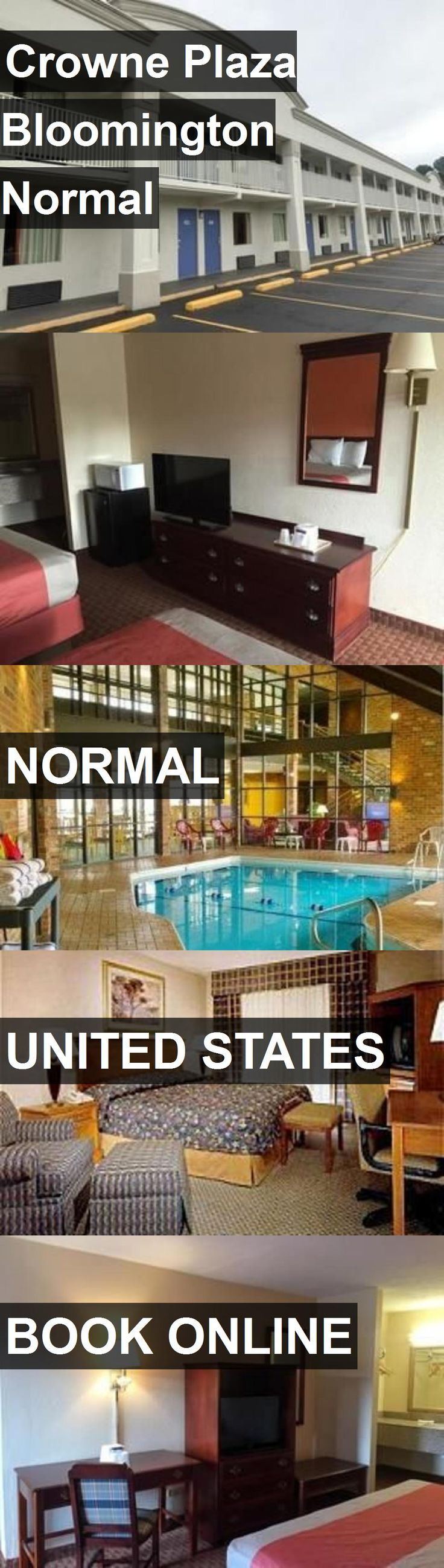 Hotel Crowne Plaza Bloomington Normal in Normal, United States. For more information, photos, reviews and best prices please follow the link. #UnitedStates #Normal #travel #vacation #hotel  United States Have more information on our Site  http://storelatina.com/travelling