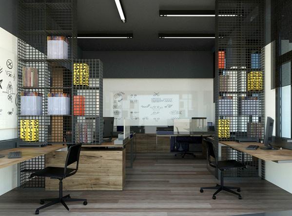 Uykusuz Dergi Ofis by Selma Özkan   Office Design #architecture