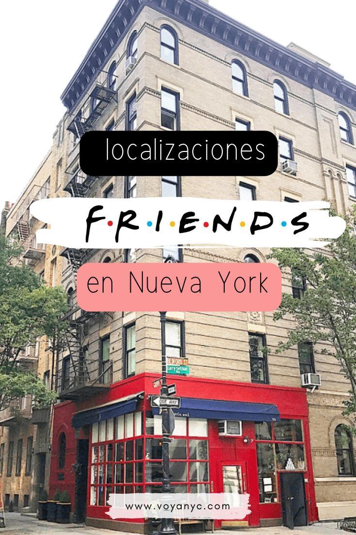 Localizaciones de Friends en Nueva York