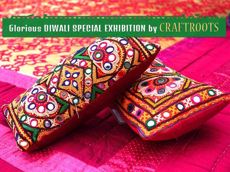 Glorious DIWALI SPECIAL EXHIBITION by #CRAFTROOTS Date: 19th to 23rd October Time: 10 am to 8 pm Venue: Ahmedabad Haat, near vastrapur lake Contact: 079- 26872647 #Exhibition #Fashion #Accessories #CityShorAhmedabad