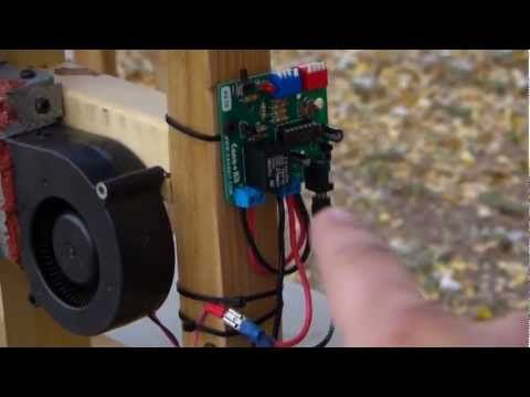 Diy Video How To Build A Homemade Pellet Stove That Runs