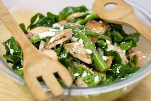 Spinach Salad with Chicken » Recipes and Foods from Cambodia