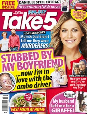 Take 5 - 10 April 2014 #magazines #magsmoveme  http://www.take5mag.com.au/