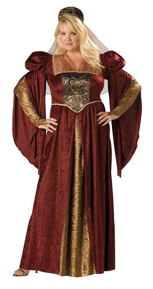 Renaissance Maiden Plus   Castle decorations   Renaissance costume ...