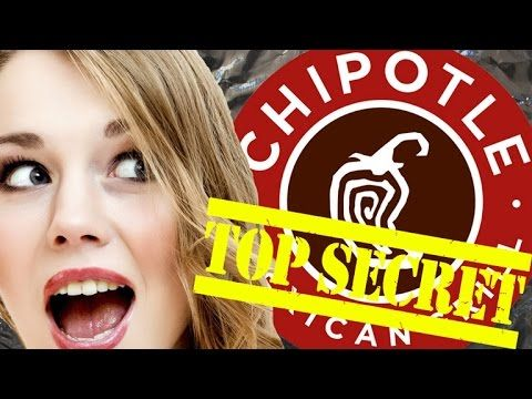 An Exploration of the Secret Menu Items at Chipotle Mexican Grill