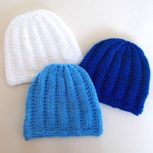 Free Knitting Patterns For Baby Weight Yarn : 1000+ images about baby hats DK yarn or sport weight on Pinterest Knitted b...