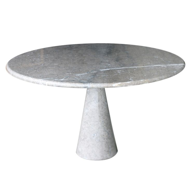 Angelo Mangiarotti dining table T1 in rare Mondragone marble | From a unique collection of antique and modern dining room tables at https://www.1stdibs.com/furniture/tables/dining-room-tables/