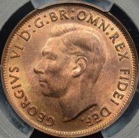 PCGS MS65RB 1949 Penny AUD $390