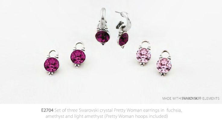 Set of Pink Earrings