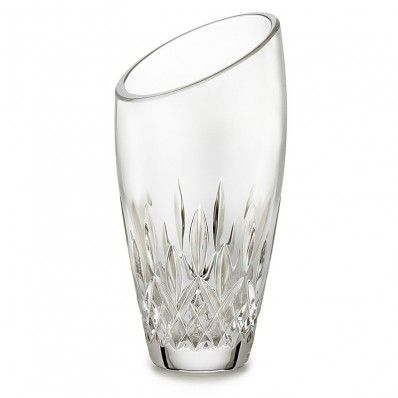 """Waterford Crystal Lismore Essence Angled Round 7"""" Vase. Available on http://www.standun.com/waterford-crystal-lismore-essence-angled-round-7-vase.html"""