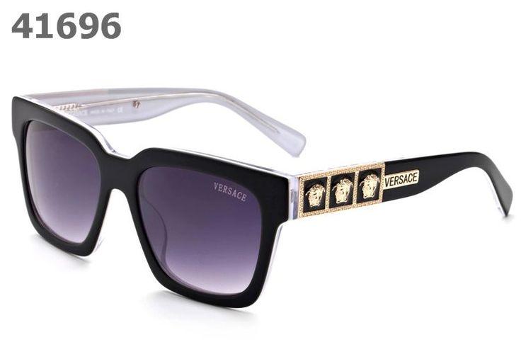 Versace Medusa Sunglasses 4329 black white frame