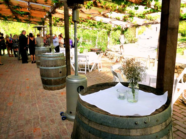 Pulp Shed Pergola.  #GlenEwinEstate #Weddings #bridal #adelaidehills #photos #Pulpshed #weddingvenue