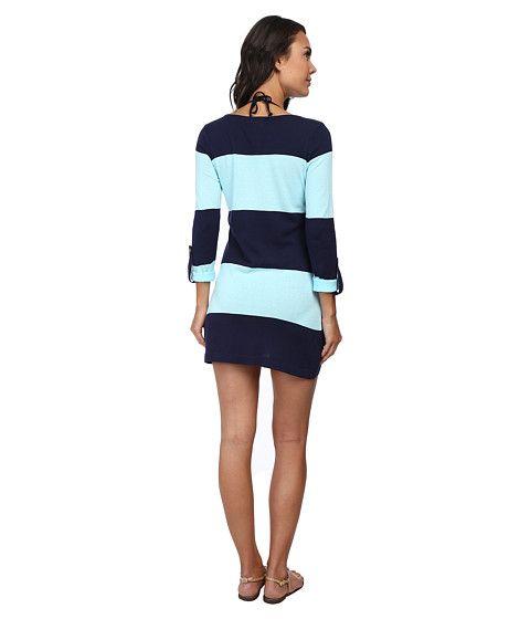 Томми Багама Бич свитер смелые полосой ж/ засучить рукава прикрытие Маре/бассейн - Zappos.com Бесплатная доставка в обоих направлениях