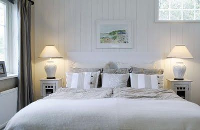 Willa Nordic Stilgrupp, Sweden. New England Style Bedroom.