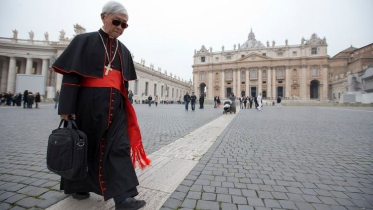 """In our acceptance of the provisions from Rome there is a limit, the limit of conscience."" said cardinal Zen"