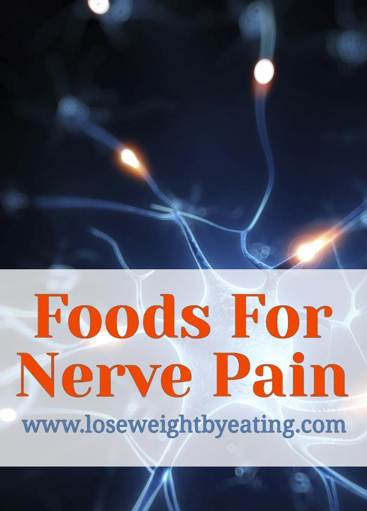 If you suffer from chronic pain, find out how to get nerve pain relief with food. Let your food be your medicine and heal yourself naturally.