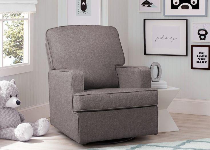 Henry Nursery Glider Swivel Rocker Chair | Delta Children's Products
