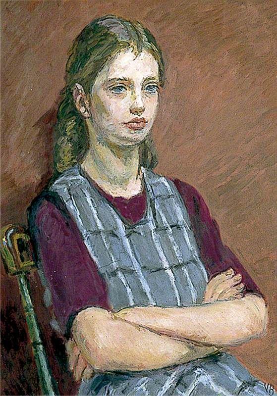 Henrietta Garnett by Vanessa Bell 1955