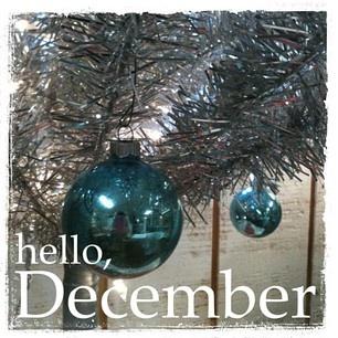 hello, December
