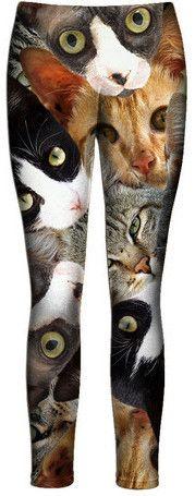 Cat Collage Leggings