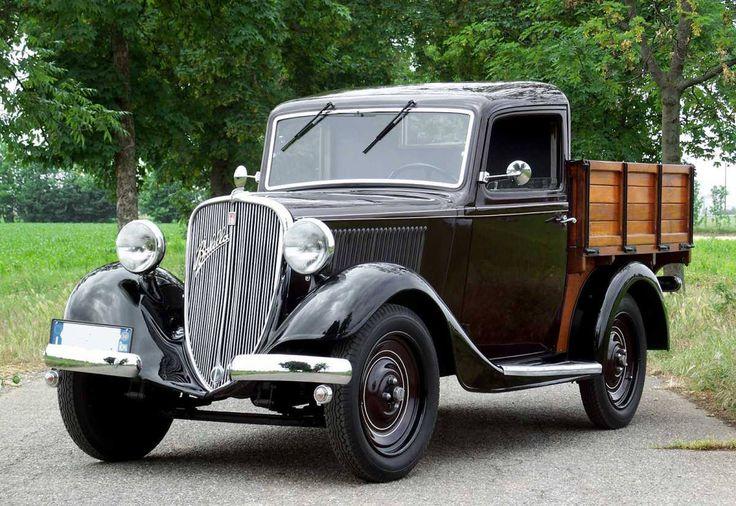 1934 Fiat 508 A Balilla