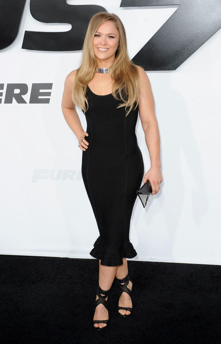 ronda rousey | Ronda Rousey – Furious 7 Premiere in Hollywood