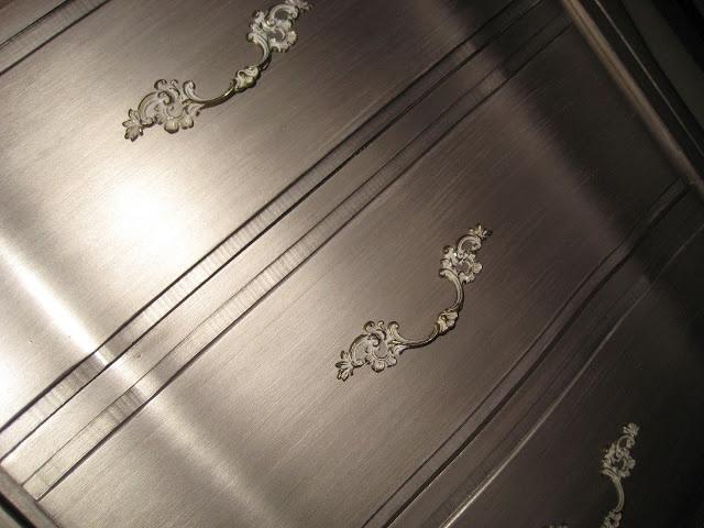 good Martha Stewart Vintage Gold Paint Part - 2: Martha Stewart Vintage Gold and Black Coffee glaze. This is beautiful! Desk  | Metallic Paint u0026 Dark Wax or Glaze | Pinterest | Black coffee, Martha  stewart ...