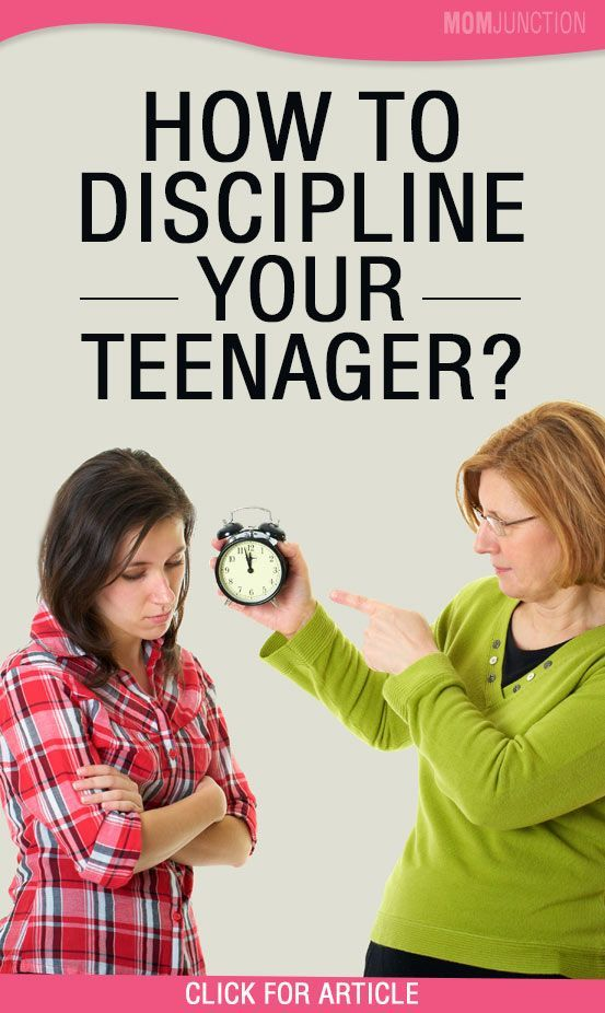 Discipline for angry teen