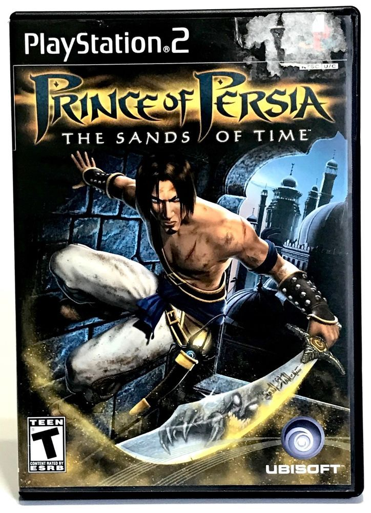 Prince Of Persia The Sands Of Time Sony Playstation 2 2003 Ps2 Complete Prince Of Persia Gamecube Games Ps2 Games
