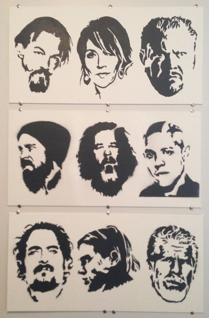 Sons Of Anarchy Stencil Item Details Shipping Amp Policies