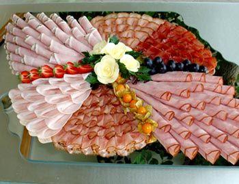 Plattenlegen Buffetplatten Schinkenplatten Bratenplatten Kanapeeplatten…