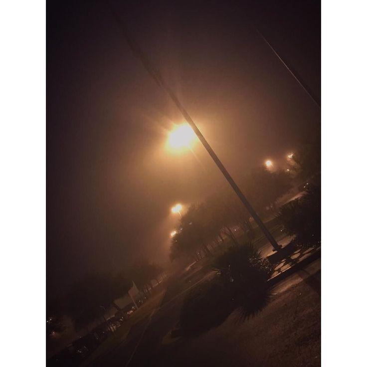 Eerie morning. #fog #morning #austin #texas #eyeem by oui._